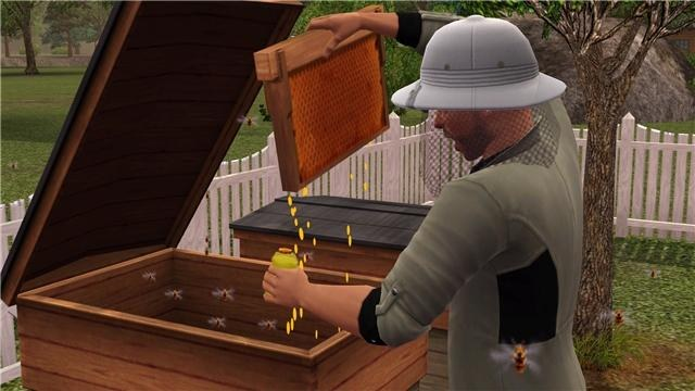 Где можно купить улей в Sims 3