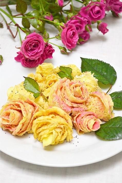 """Блинные """"розы"""""""