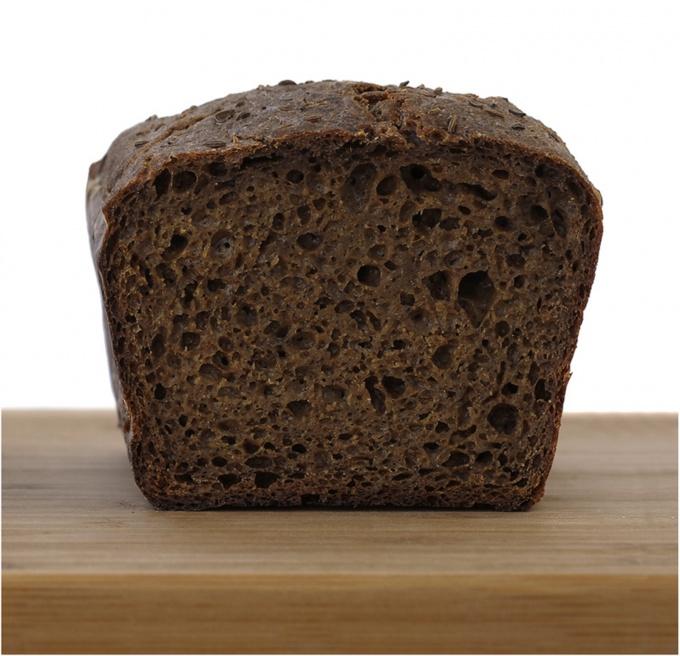 Хлеб ржаной заварной в хлебопечке