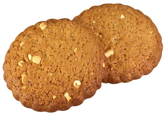 Рассыпчатое сырное печенье с орехами