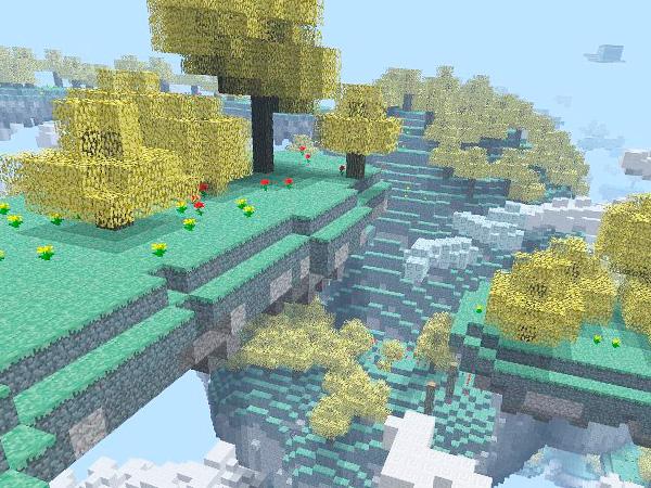 Сделать Рай в Minecraft