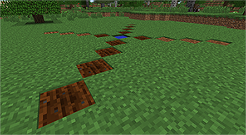 Rod beds in Minecraft