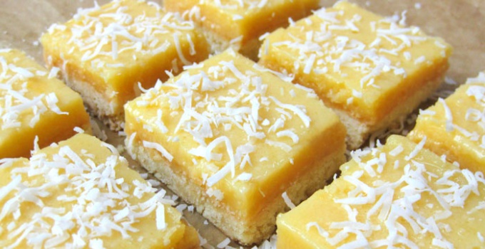 Как приготовить кокосовое печенье с лимонным кремом