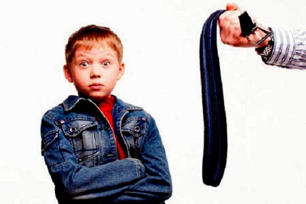 Правильное наказание для ребенка