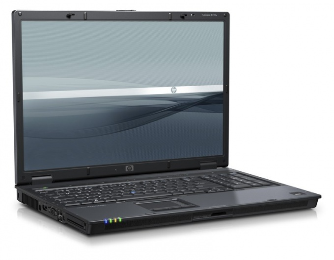 How to install drivers on a laptop HP