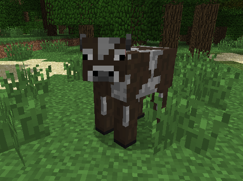 Корова в Майнкрафте