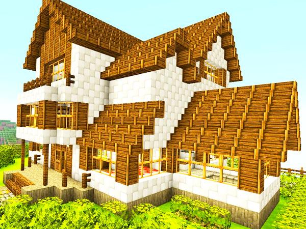Построить дом в Minecraft