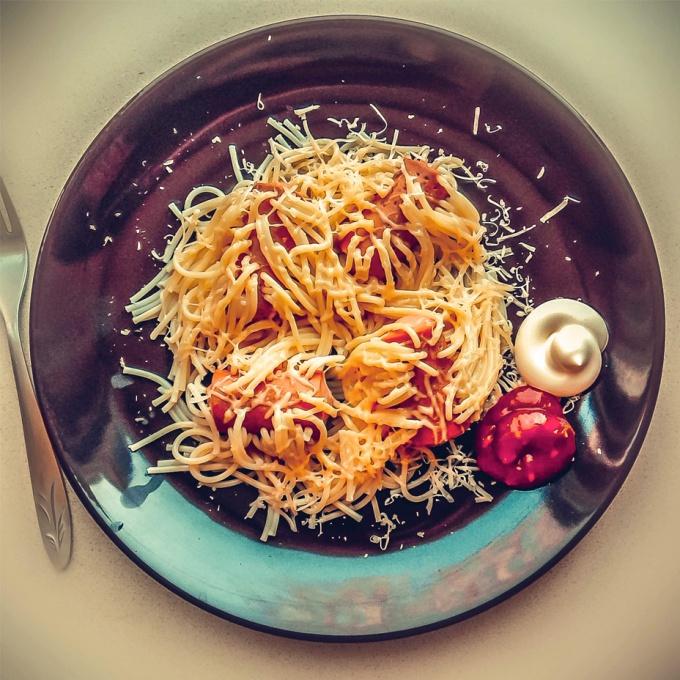 Как оригинально приготовить спагетти