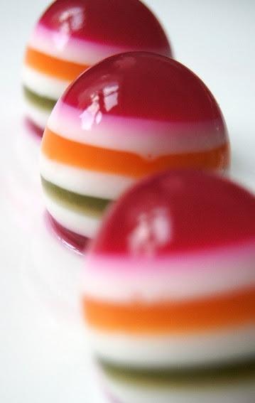 Пасхальные желейные яйца