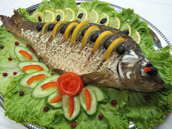 When Gilbert's syndrome can be eaten baked fish low-fat varieties