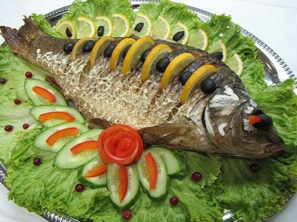 При синдроме Жильбера можно есть запеченную рыбу нежирных сортов