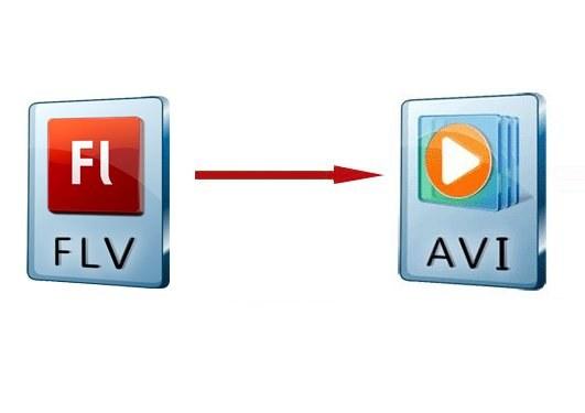 Как конвертировать flv в avi
