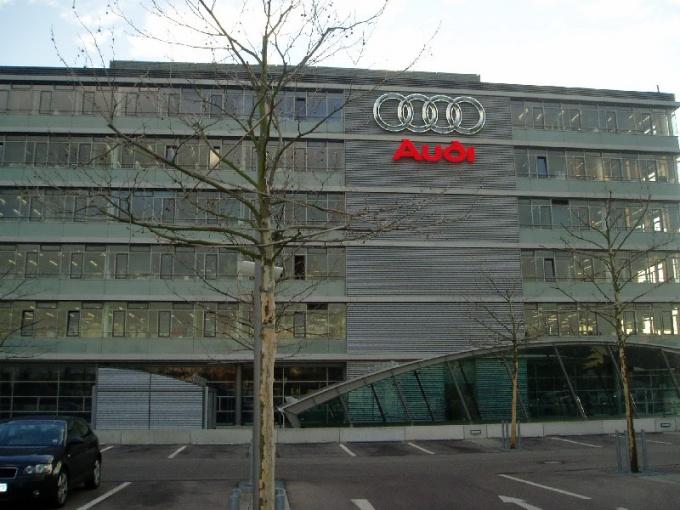 Где выпускают Audi