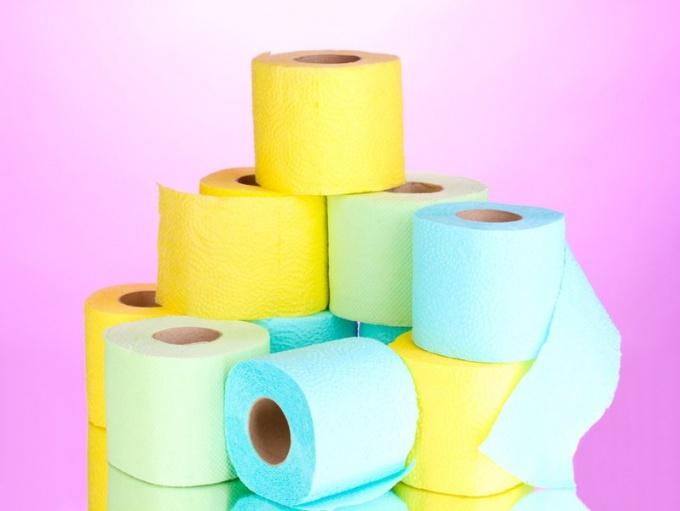 Как производят туалетную бумагу