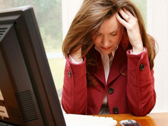 Стресс - причина сбоя менструального цикла