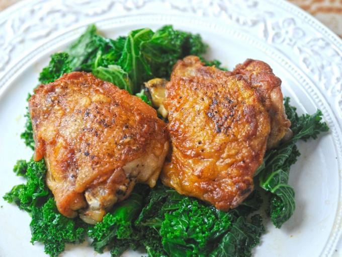 Куриные бедра запеченная в духовке рецепт
