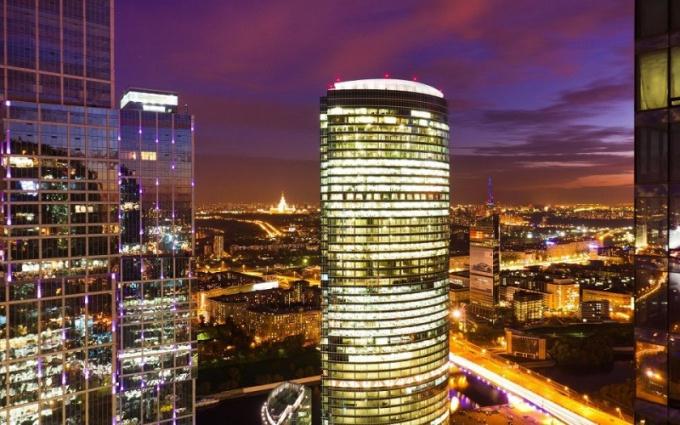Самый большой мегаполис в России - Москва