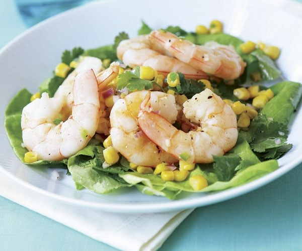 Shrimp and squid are very useful and are popular