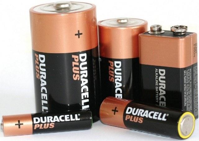 Типоразмеры батареек