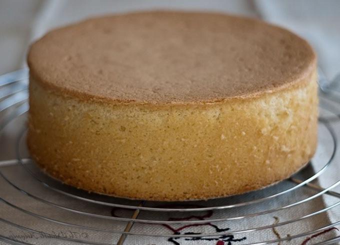 Бисквитные коржи для торта рецепт с фото