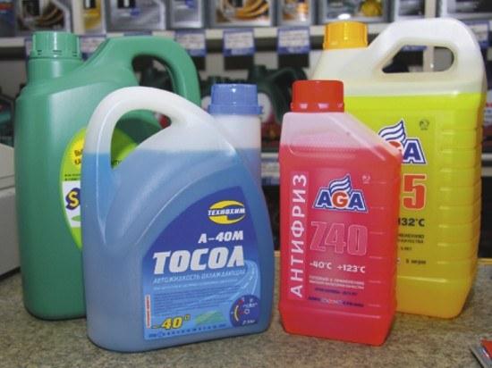 Как можно тщательнее выбирайте охлаждающую жидкость для вашего автомобиля