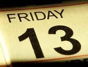 Пятница, 13-е число - нелюбимое многими сочетание