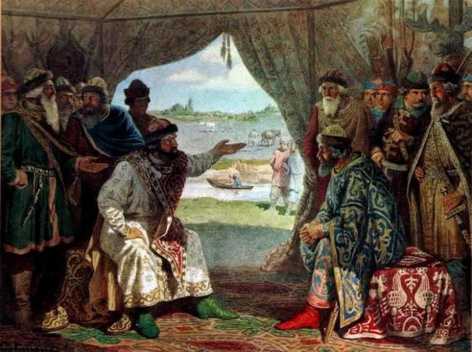 Какие существуют основные теории происхождения древнерусского государства
