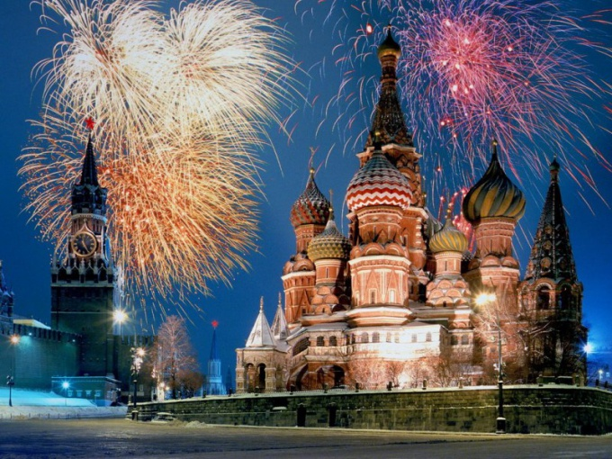 Where is the best place to watch fireworks in Moscow