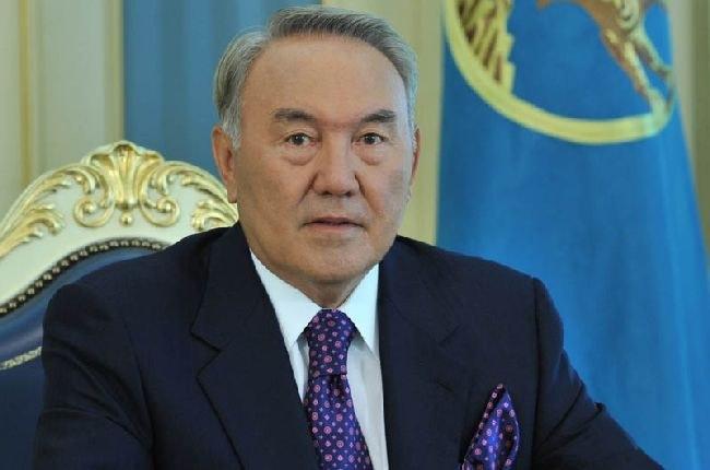 Нурсултан Назарбаев - президент Республики Казахстан