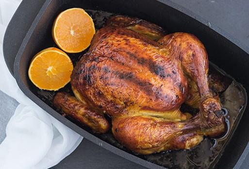 курица с корочкой в духовке