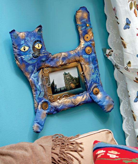 Рамка для фотографий «Волшебная кошка»