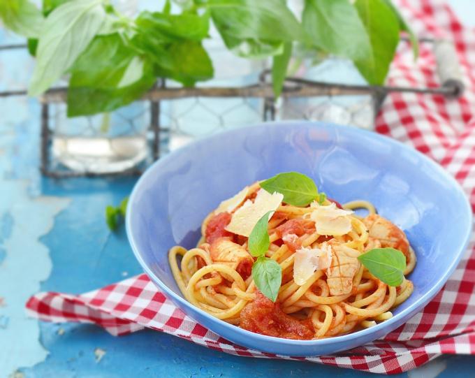 Спагетти - итальянское национальное блюдо
