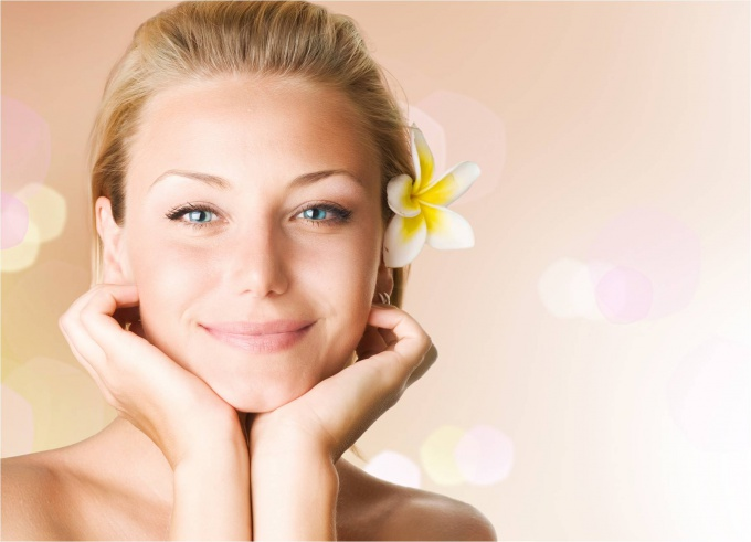 Facial skin care with enlarged pores
