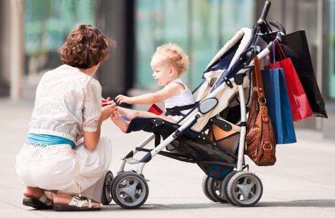 Как выбрать коляску для младенца