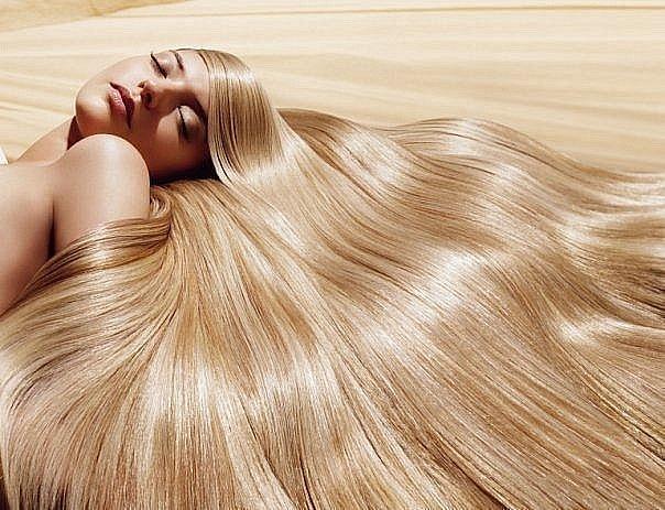 Healthy shine of hair