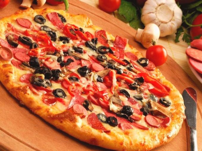 Пицца «Гость на пороге»