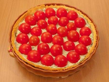 Как приготовить пирог с рикоттой и томатами