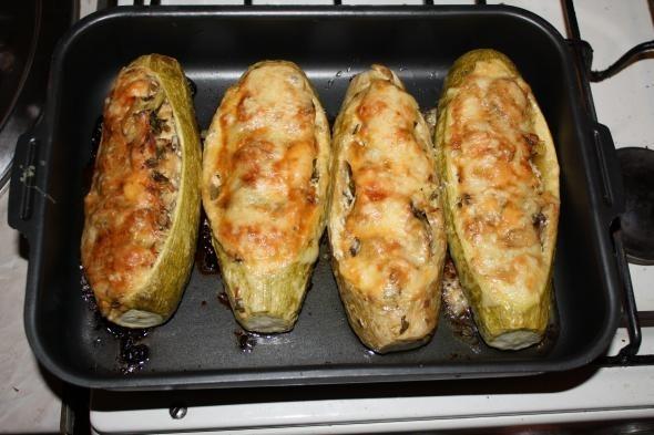 Как приготовить кабачки, фаршированные чечевицей