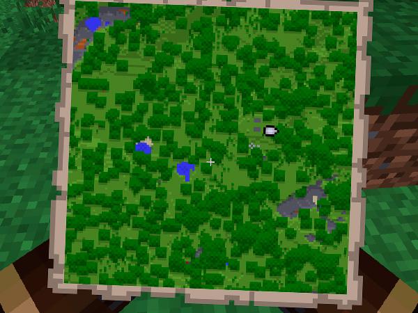 Сделать карту в Майнкрафте
