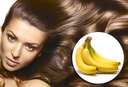 Маска для волос с бананами