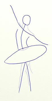 Общая форма балерины