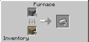 Сделать слитки железа в Майнкрафте