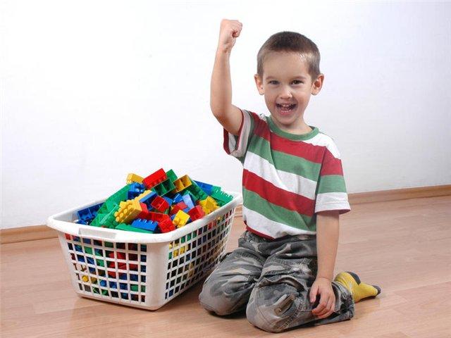 Чтобы игрушки не валялись