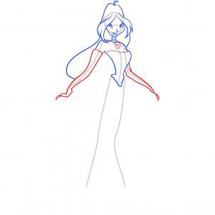 Как нарисовать Винкс поэтапно карандашом
