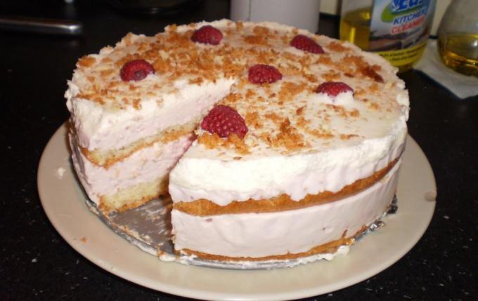 Нежный и легкий торт суфле
