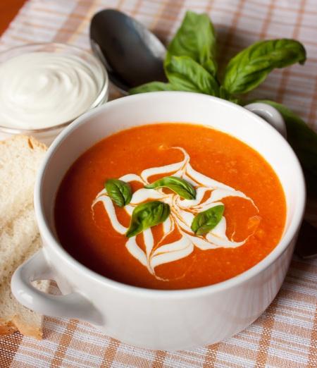 Томатный суп-пюре по-турецки