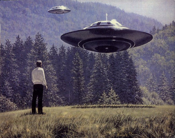 Как вести себя при встрече с НЛО