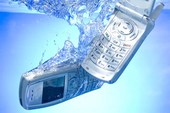 To return the performance to be submersed in water phone