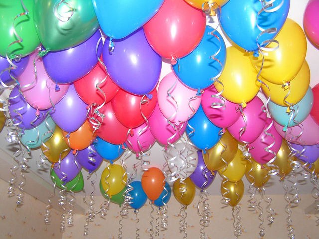 Than to inflate balloons at home
