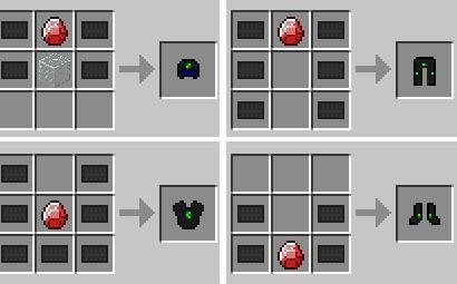 Майнкрафт как сделать железную броню 837